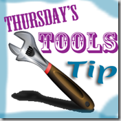 Thursday Tool Tip Button