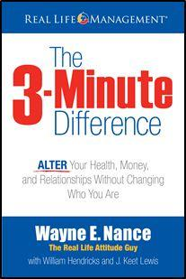 The 3-Minute Difference Book Cover