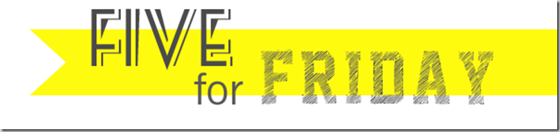 Five_for_Friday banner yellow