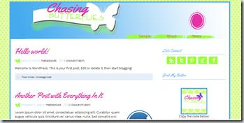 Premade WordPress template