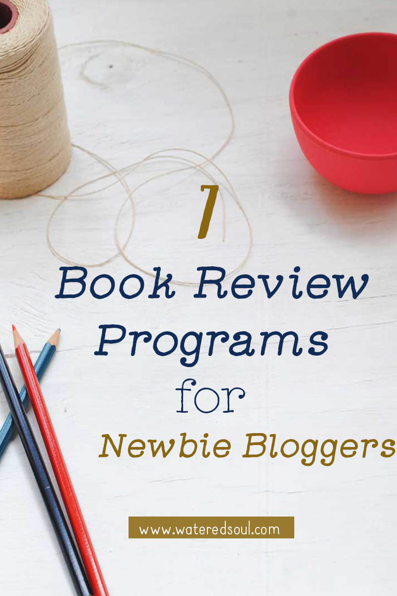 Blogger Book Review Programs