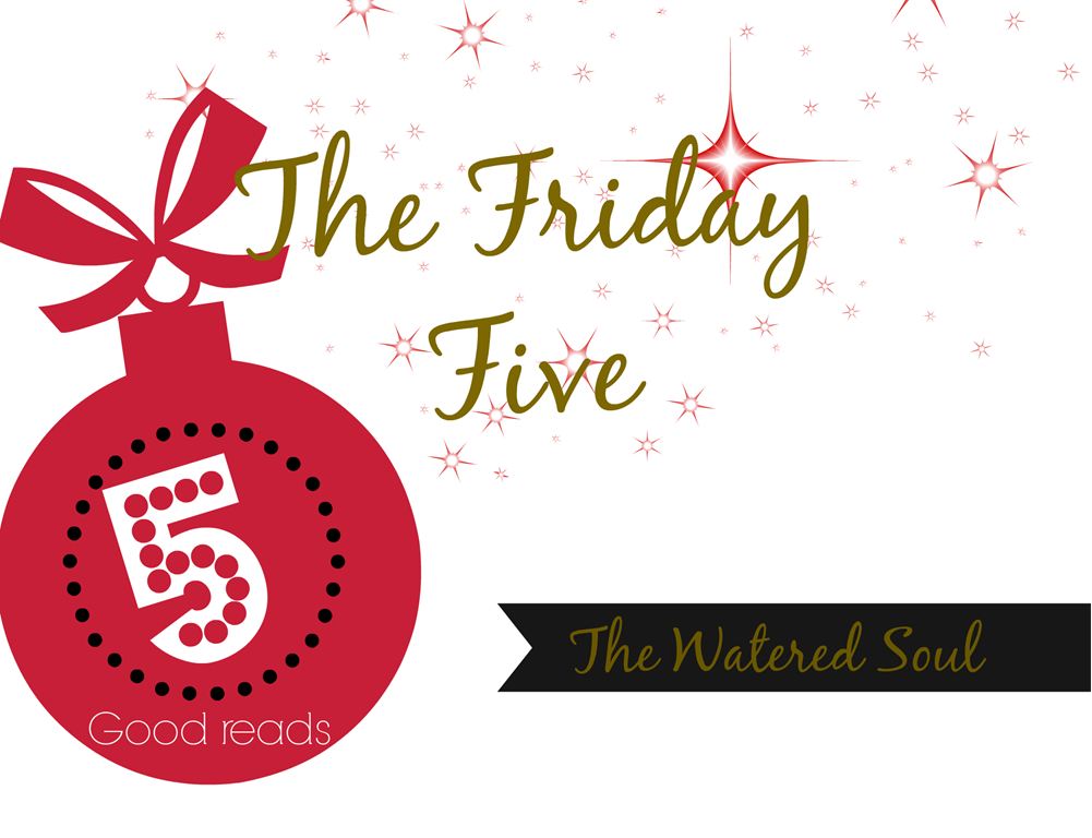 Friday Five -Christmas Themed