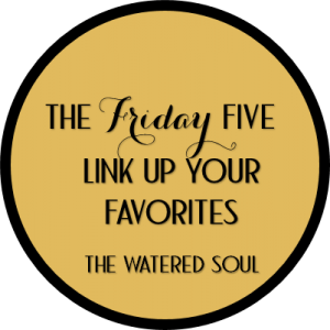 The Friday Five Fellowship at The Watered Soul