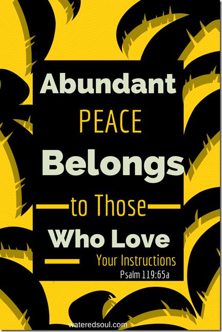 Abundant Peace (1)