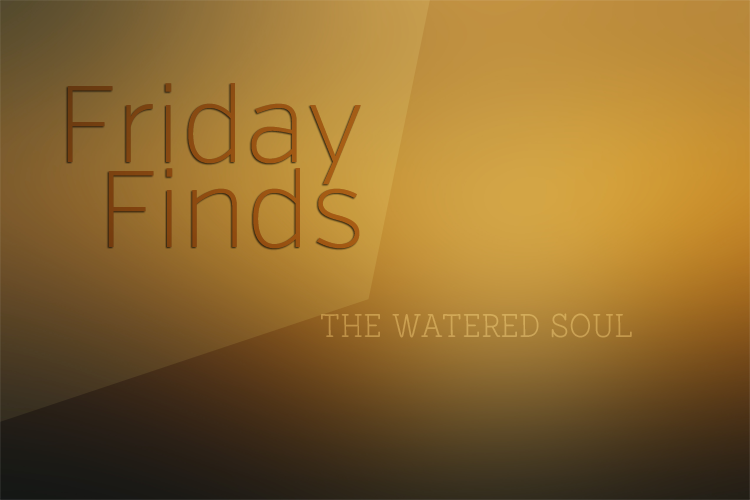 Friday Finds at The Watered Soul