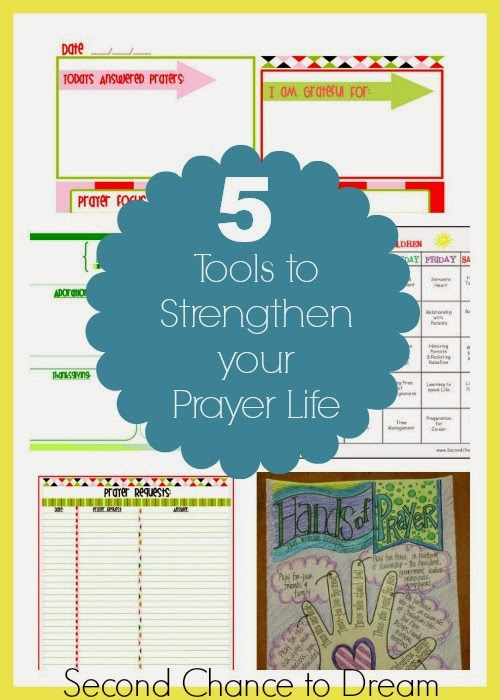 5 Tools to Strengthen Your Prayer Life