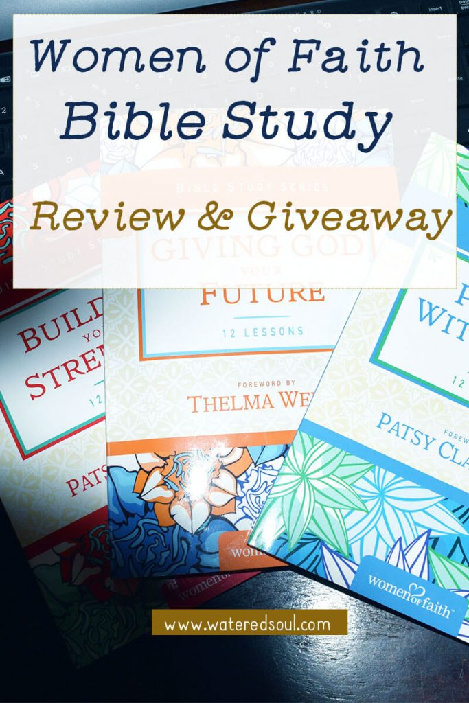 Women of Faith Bible Study Giveaway